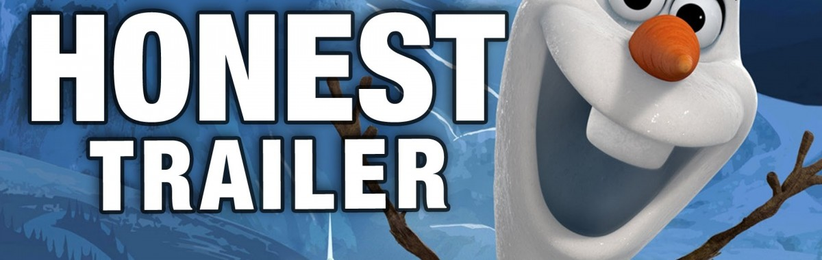 honest trailer frozen