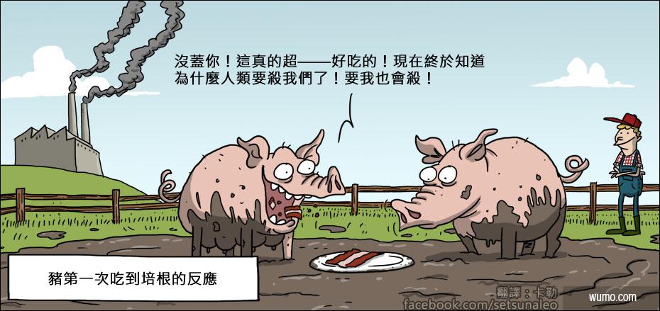 20130103 當豬吃到培根