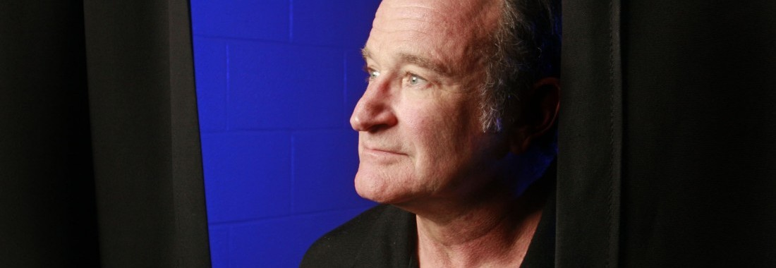 Robin Williams before his performance at the Ted Constant Convocation Center in Norfolk