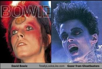 david bowie, gozer