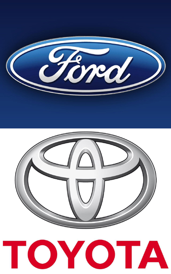 ford and toyota