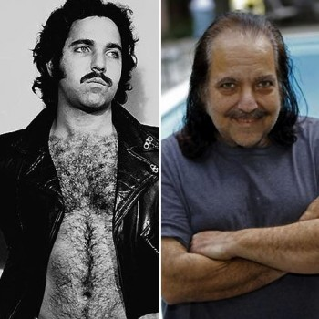 ron jeremy then and now