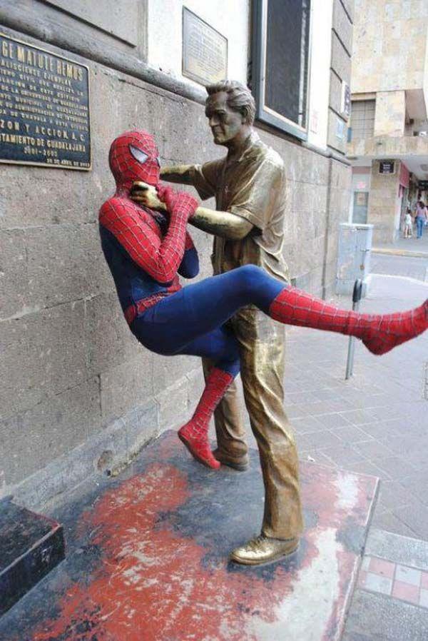 9 我抓住你了蜘蛛人