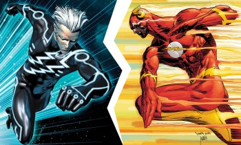 the flash vs quicksilver