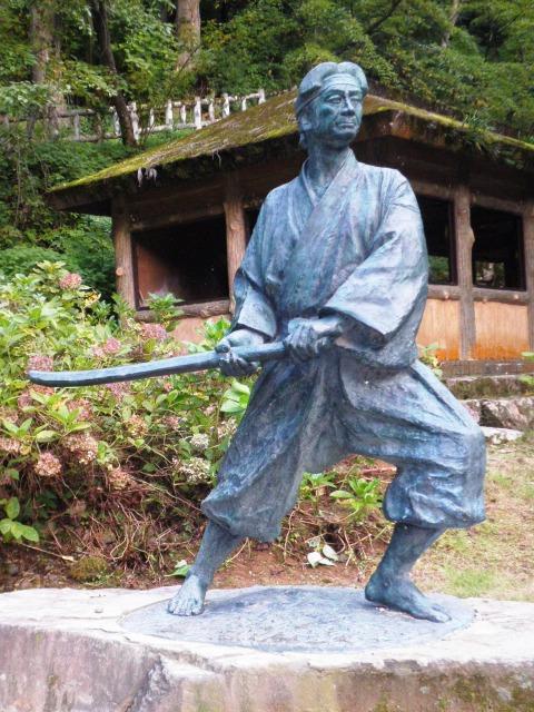 Statue_of_Sasaki_Kojirō