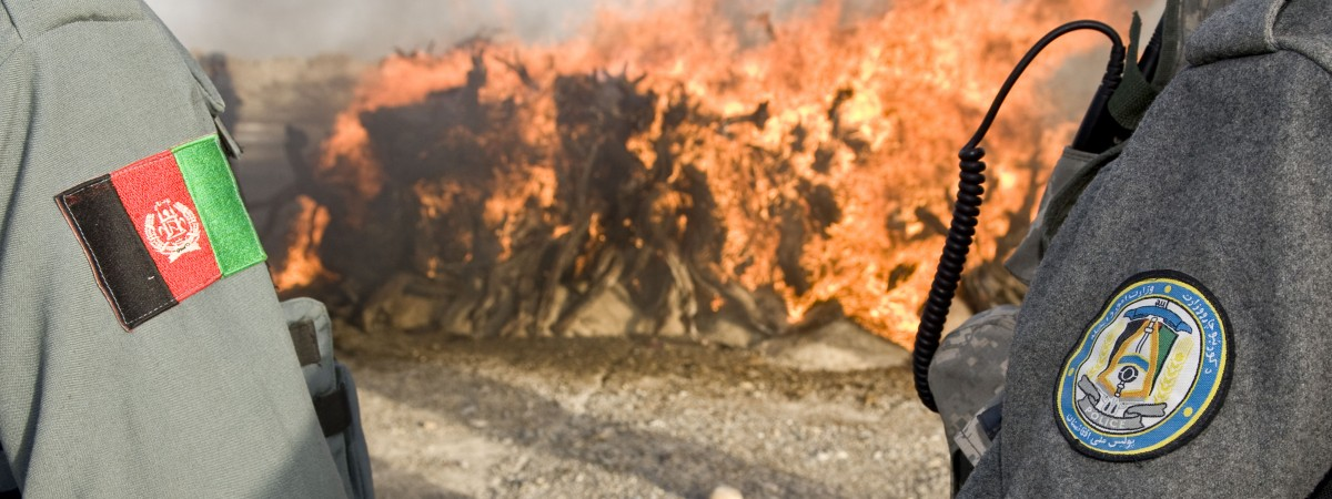 Drugs Burn in Lashkar Gah