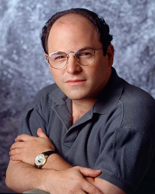 """SEINFELD""  Pictured: ActorJASON ALEXANDER as George Costanza."
