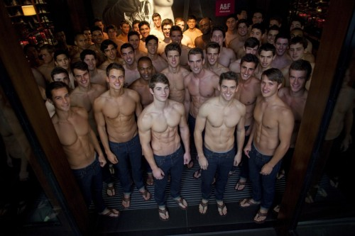 Abercrombie-Fitch models