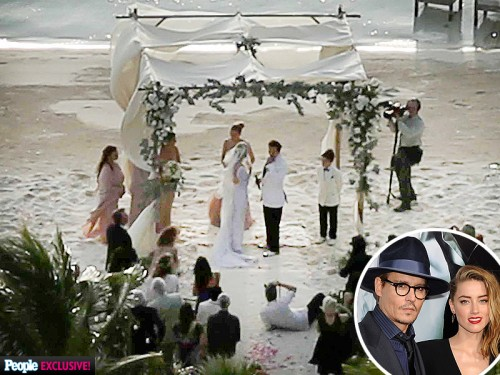 johnny depp wedding