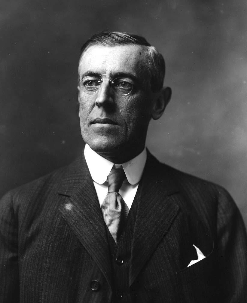 3. Woodrow Wilson