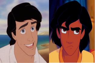 aladdin vs prince eric